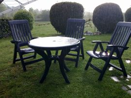 Gartenmöbel - Sitzgarnitur