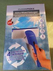 Fenster Akku-Waschsauger von Clean Maxx