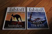 2 falstaff Kataloge aus 2013
