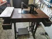 Versenkbare naehmaschine