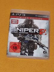 PS3 Spiel Sniper 2 Ghost