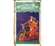 Altes Reklame Plakat Continental Kraftrad