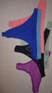 Getragene Unterwäsche