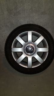 VW Golf V Sommereifen auf