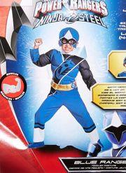 Power Ranger Blue Muskel Kinder