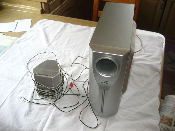 JVC Subwoofer Box Lautsprecher SP-WS1