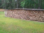 Ofenfertiges Brennholz Feuerholz Kaminholz gespalten