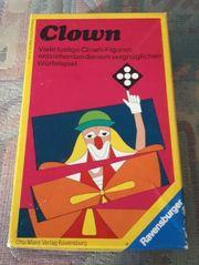 Ravensburger Clown1975Deutsch France Italiano