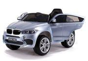 Elektroauto BMW X6 Silbern lackiert