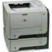 HP Laserjet P3015 Drucker mit