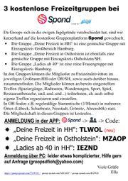 Freizeitgruppe Deine Freizeit in Ostholstein