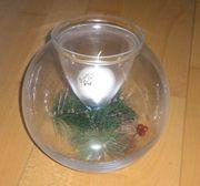 Kugelglaskerzenhalter Kugel für jahreszeitl Dekorationen