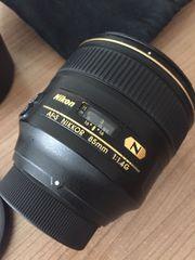 Nikon Nikkor 85 mm F1
