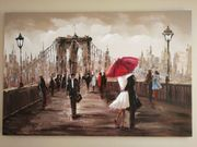 Ölgemälde Alexandre Brooklyn Bridge