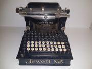 JEWETT 5 RARE Schreibmaschine - Maquina