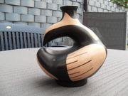 Chilenische Vase Vogel