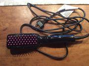 Haarglätter Haarbürste elektr Neuw