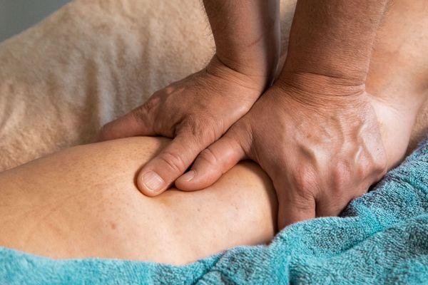 Wellness Öl Massage