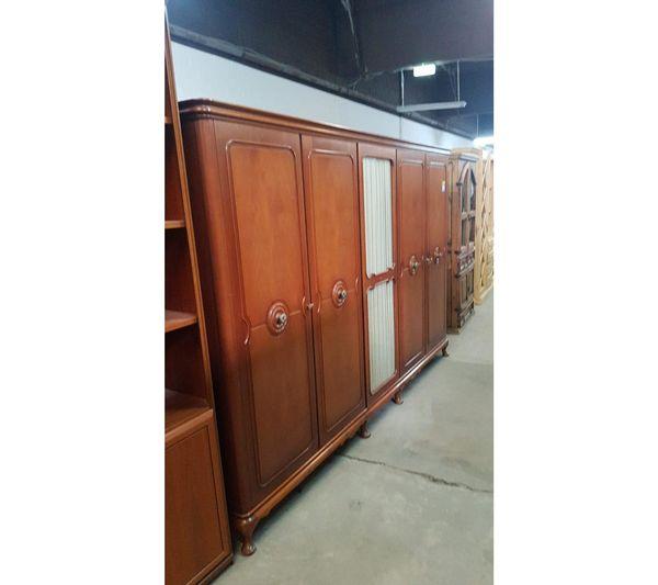 Kleiderschrank Antik 285x188x60 gepflegt - HH01033