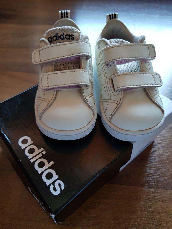 Adidas Klettschuhe Gr 19 weiß