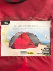Pop-Up Strandmuschel