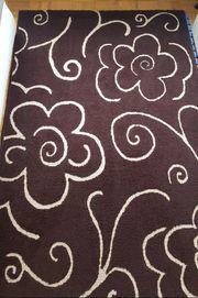 Teppich braun wie neu 1