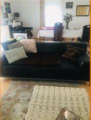 Leder Sofa 2 X