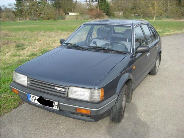 Oldtimer Mazda BF 1700 Diesel