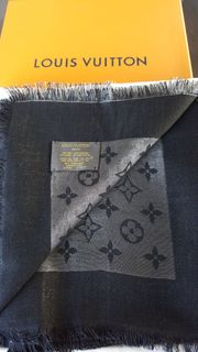 Louis Vuitton Tuch Schal Schwarz
