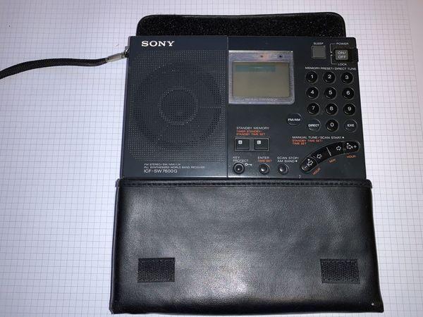 Weltempfänger Sony ICF-SW7600G