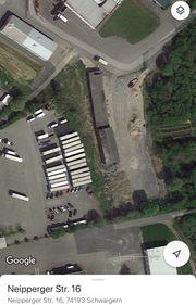 große Lagerhalle Schwaigern