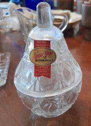 Bleikristall und Glas Konvolut 6