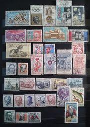 Tschechoslowakei Briefmarken Lot - von 35