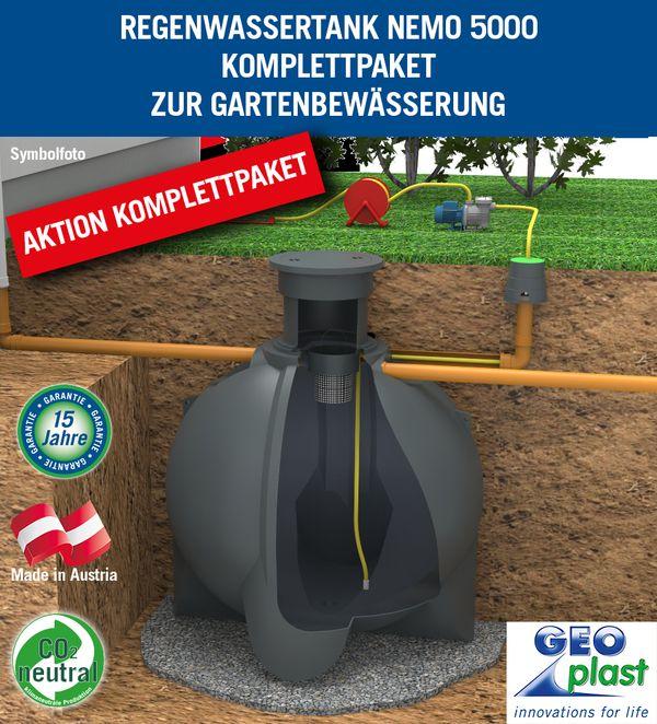 AKTION Regenzisterne NEMO 5000 Liter