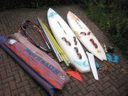 Surfausrüstung komplett 2 Boards 3