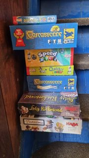 Spiele Brettspiele teilweise neu