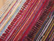 Teppich dunkelbunt 80 x 150