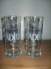 4 Karlsberg Radler Gläser