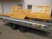 Relaxliege Sonnenliege Holzgarnituren Saunaliege Sinnesbank