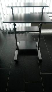 Manuell höhenverstellbarer Laptoptisch Schreibtisch