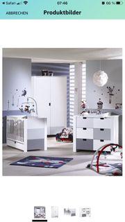 Kinderzimmer Babyzimmer Babybett von Sauthon