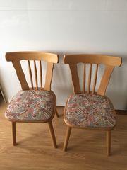 Gelegenheit 2xschöne stabile Stühle