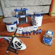 Playmobil Polizeiwache incl Polizeiauto und