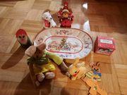 Oster- und Weihnachtsdekoration LINDT Stoffhase