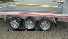 PKW XL TRIDEM MINI-Bagger Anhänger: Kleinanzeigen aus Rheinberg - Rubrik Anhänger, Auflieger