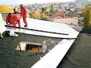 Dachdecker Dach Dachrinnen Blech arbeiten