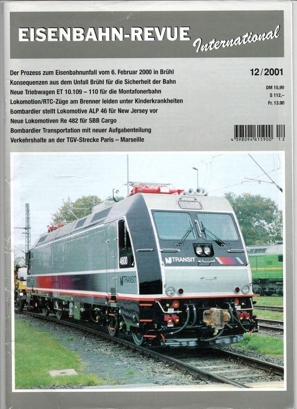 Eisenbahn Revue 12 2001 Re