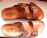 Herren Sandale Pantolette Natural Walk