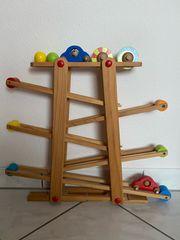 EICHHORN Kinder Holz Spielzeug Rollbahn