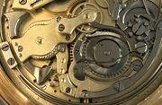 Goldene 585er 14K Uhr massive